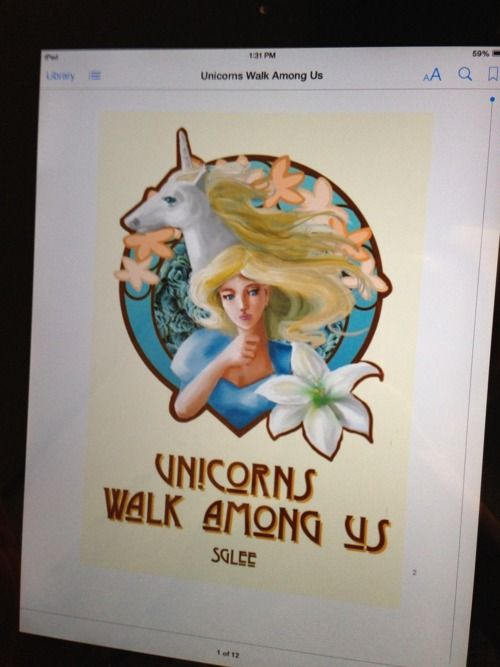 """""""A unicorn in an ebook"""""""