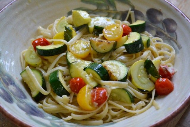 Summer Spaghetti: Easy, Healthy Vegetable Pasta