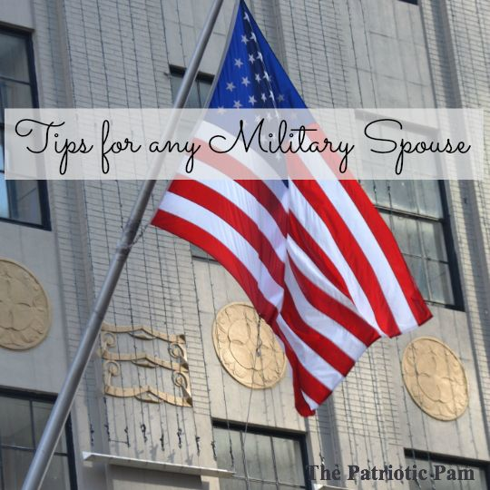 Tips for any Military Spouse