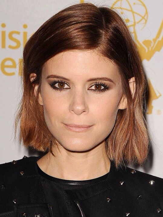 Kate Mara chestnut bob                                                       …