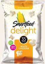 Smartfood® Popcorn - Delightfully SMART, Unforgettably TASTY Popcorn!