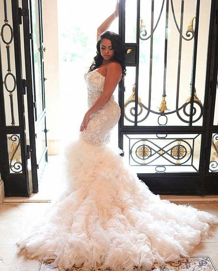 230 best Black weddings images on Pinterest | Wedding frocks, Bridal ...