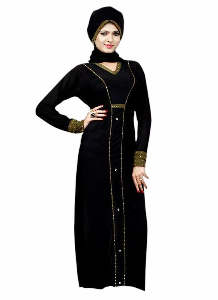 Clothing Maxi Jilbab Hijab Style Dress Dubai Abayaa Islamicwear Long Bahiyyah…