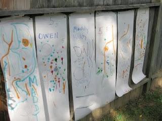 Free Fence Writing