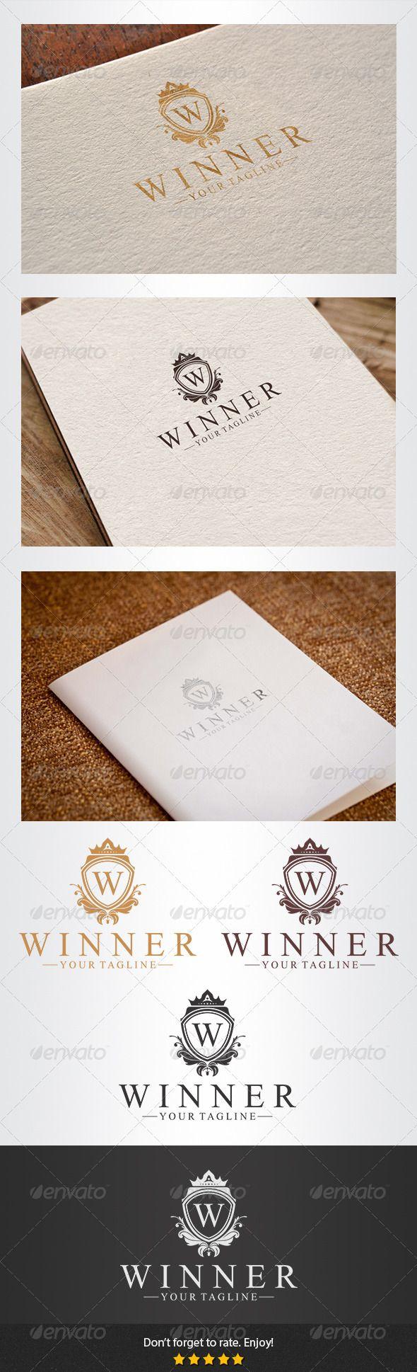 Winner Logo #GraphicRiver Winner Logo Overview: CMYK Color,