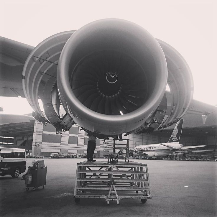 Diary of an #aircraftmechanic #aircraftmaintenance #mechanic #airbus #A380 15032016 #aviationlife #aviation #instagramaviation #aeroplanes #aviationgeek Rolls Royce Trent 900 #engines by zackery_zaihan