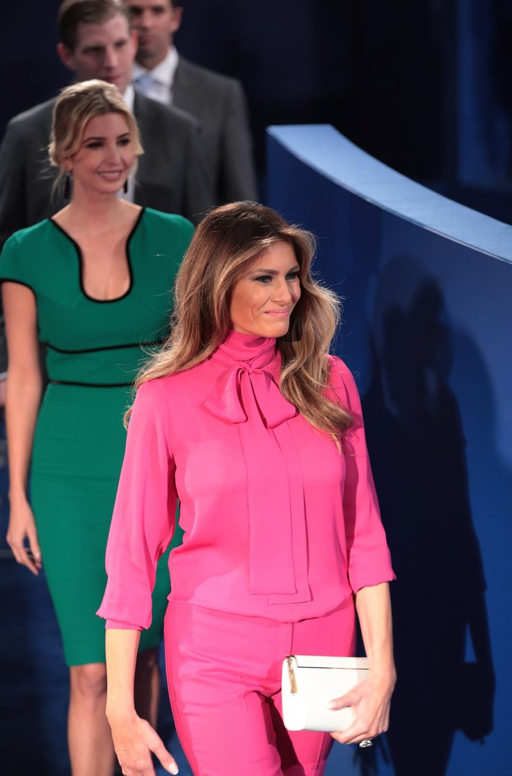 Melania Trump, 2016