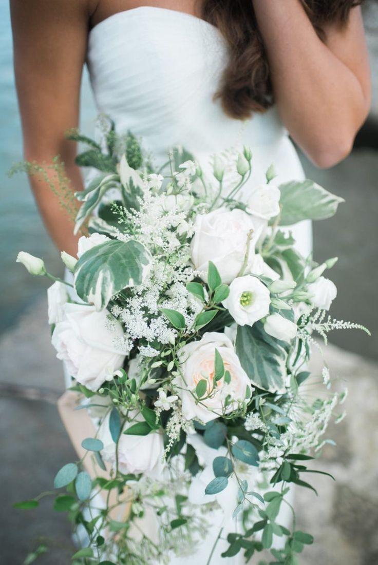 Свадебные букеты хвостом