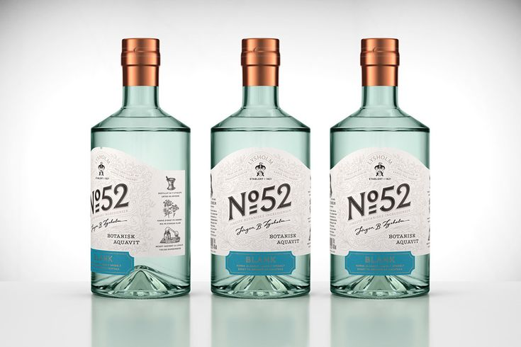 Lysholm N52 Botanisk Aquavit — The Dieline - Branding & Packaging Design