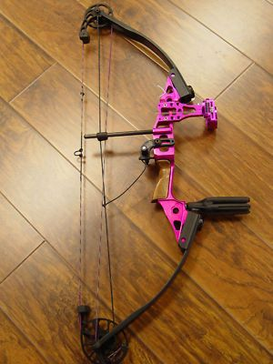 women's pink compound bows | ... Electric Pink Ignition Compound Bow, Mint | Compound Bows for Sale