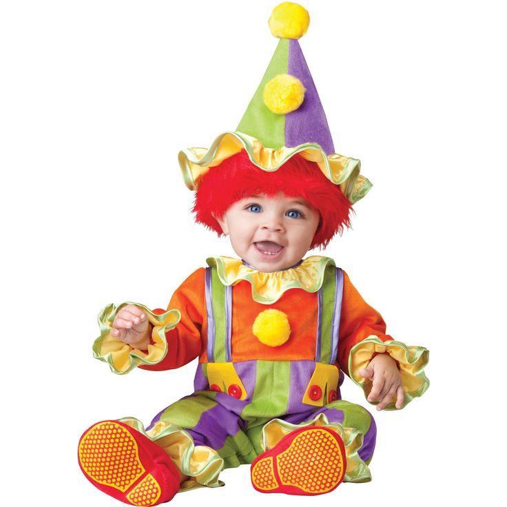 Cuddly Clown Toddler 18-2t