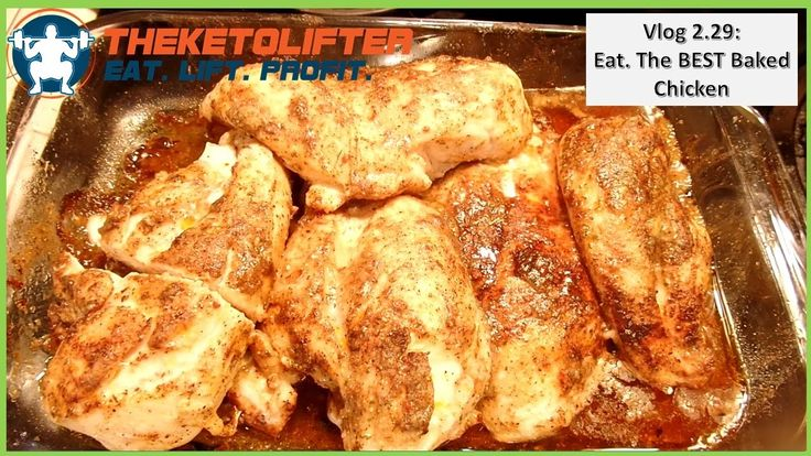 The BEST Baked Chicken (Recipe & Macros in Comments)