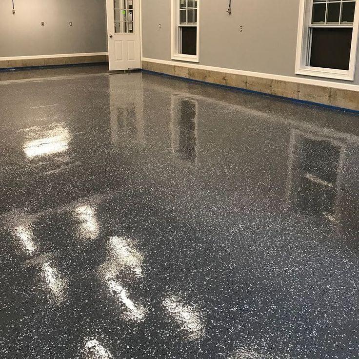 Commercial Garage 6009 Epoxy Base 5500 Polyaspartic Topcoat Floor Coating System Epoxy Floor Epoxy Floor Paint Epoxy Floor Coating