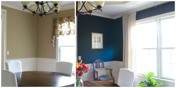 My Favorite Dark Blue Wall Color, A Year Later