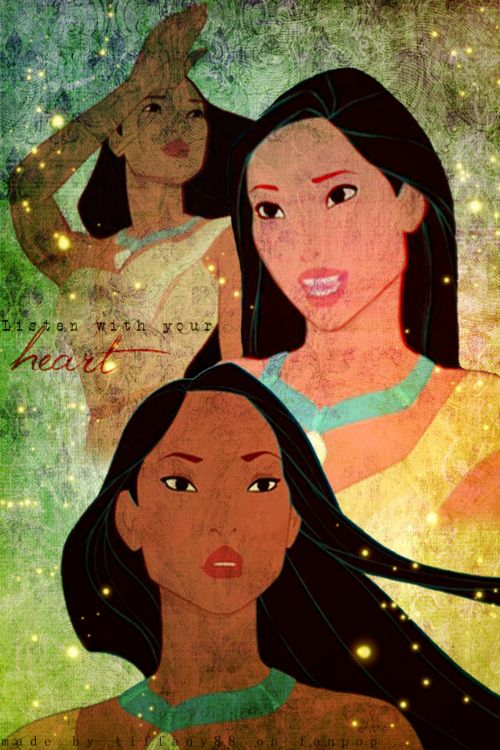 Day 6: Prettiest Princess? Pocahontas. I love her hair, her face is absolutely beautiful, and she looks strong.