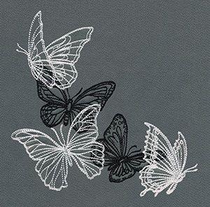 Flight & Dark Butterflies - Corner   Urban Threads: Unique and Awesome…