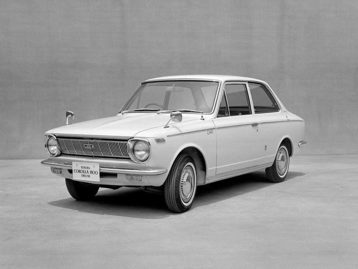 Toyota Corolla coach 1966-1969 vue AV - photo Toyota | Auto Forever