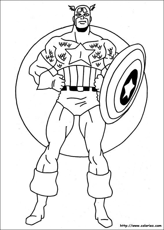 the captain america was standing upright coloring for kids captain america coloring pages kidsdrawing free coloring pages online