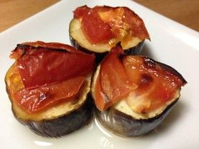 さっぱり☆茄子とトマトのグリル