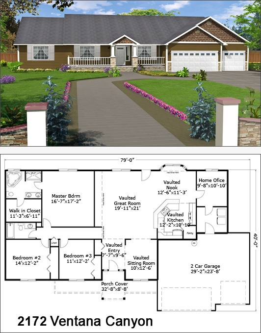 17 best images about single story floor plans on pinterest for Shore house plans