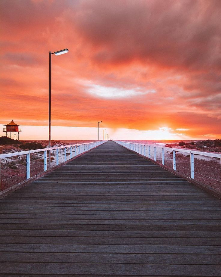"""1,522 Likes, 19 Comments - South Australia (@southaustralia) on Instagram: """"Take a looooong stroll down all 585 metres of Semaphore jetty and you'll find it isn't just a great…"""""""