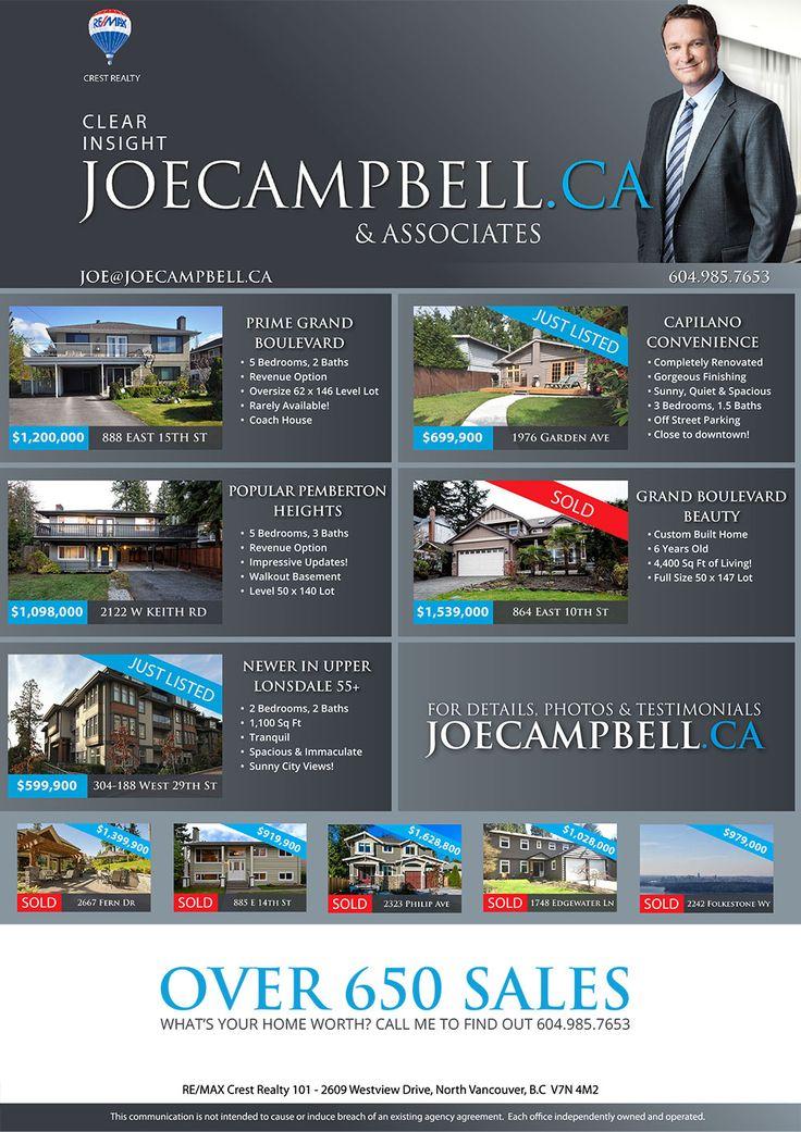 Newspaper ad for Realtor Joe Campbell