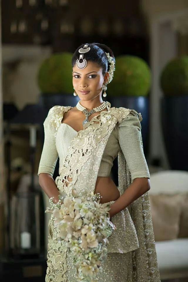 354 best images about sri lankan wedding on pinterest for Sri lankan wedding dress