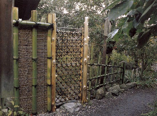 17 best images about japanese fences on pinterest for Japanese gates pictures