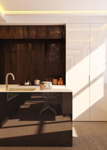 Kitchen design in Katowice, POLAND - archi group.  Kuchnia w domu jednorodzinnym.