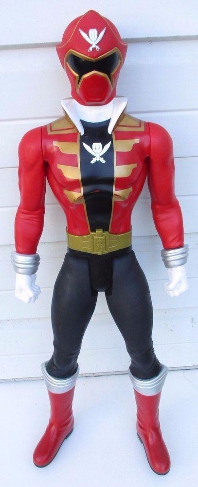 "POWER RANGERS Megaforce Red Ranger 31"" Action Figure Jakks Pacific 2014 Giant #JAKKSPacific"