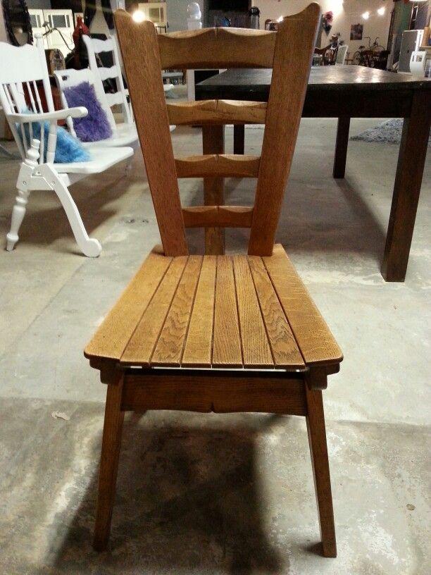 Oldskool oak chair...