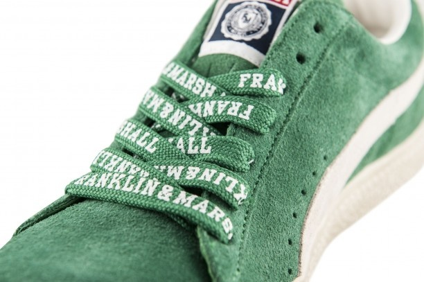 Branded Franklin & Marshall laces for the new Puma #Clyde #sneakers