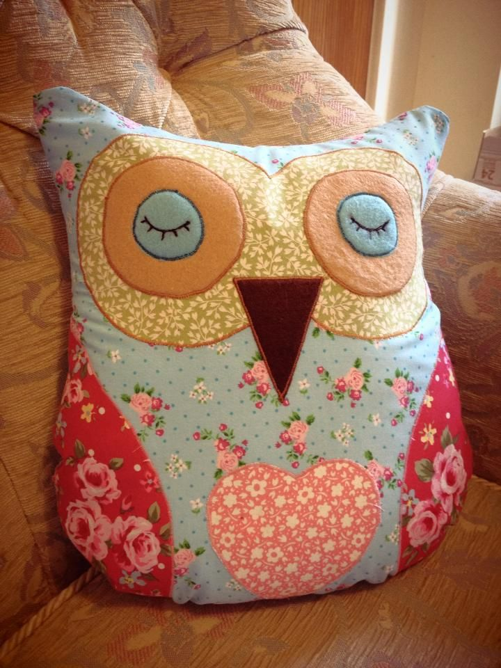 Owl cushion More