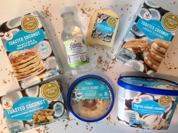 GIANT Food Store's New Toasted Coconut Inspired Originals & a $25 Gift Card Giveaway