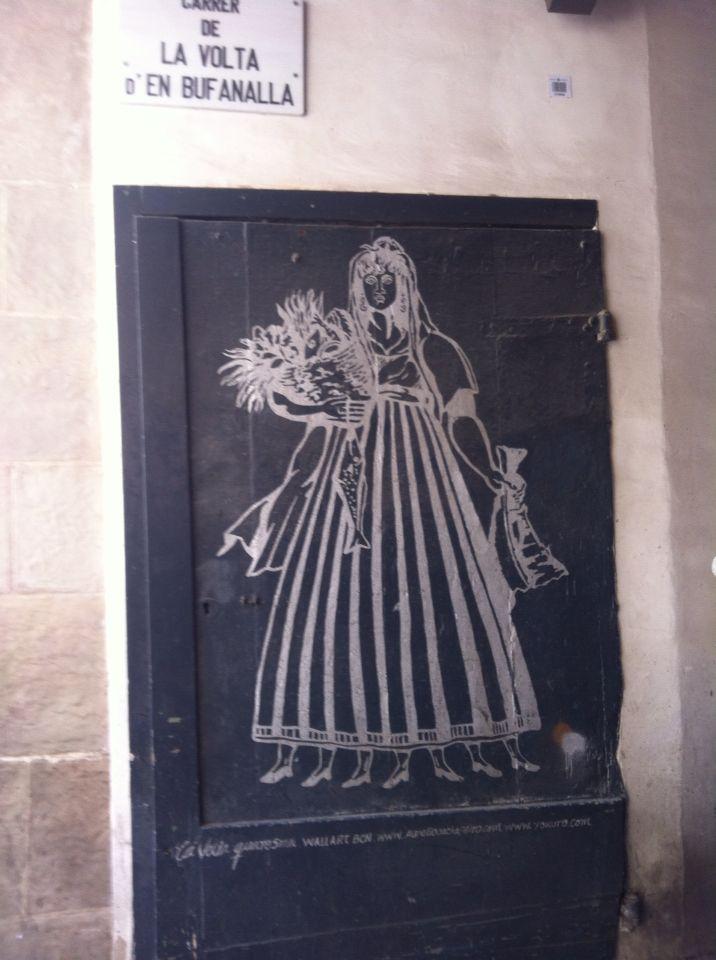 La vella quaresma, Barcelona