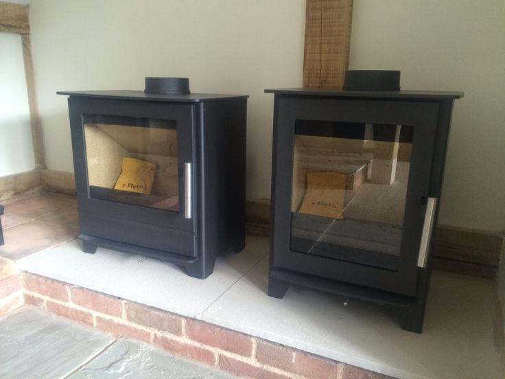 Nice Heta Inspire stoves on display