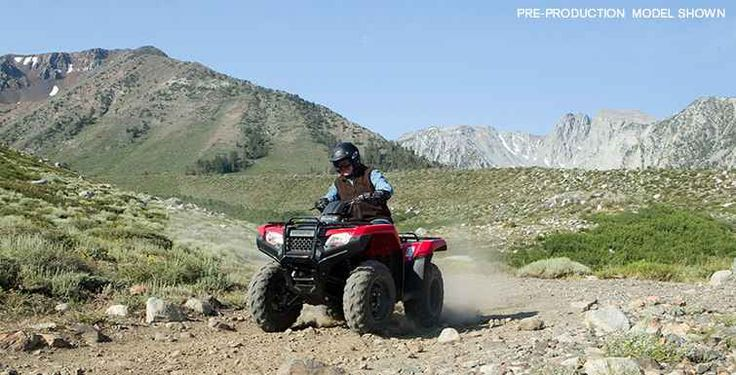 New 2016 Honda FourTrax® Rancher® 4x4 Automatic DCT Power Steering ATVs For Sale in Washington.