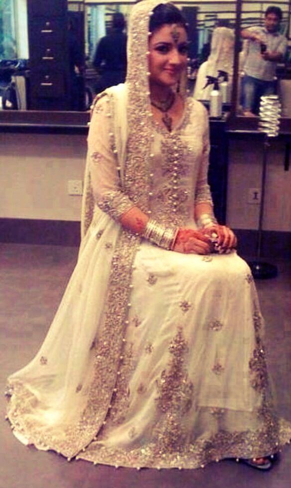 Nikah dress #PerfectMuslimWedding
