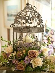 loving the vintage birdcage