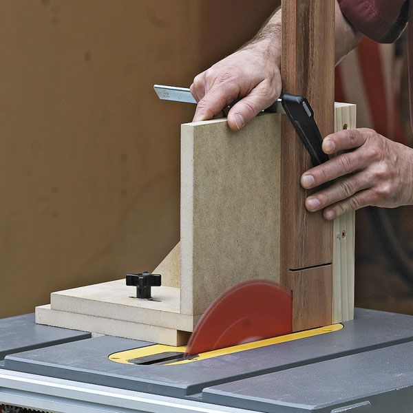 Tablesaw Joinery Jig Woodworking Plan from WOOD Magazine