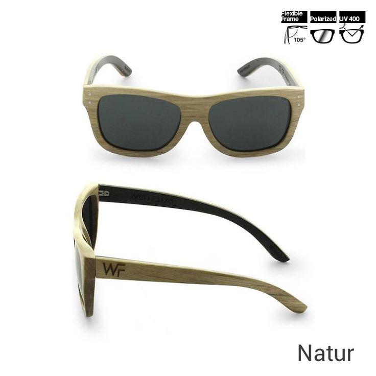 Wood Fellas Sonnenbrille aus Holz Unisex - Jetzt reduziert bei Lesara