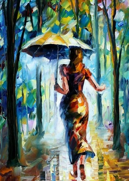 Rainy Season Paintings Pictures