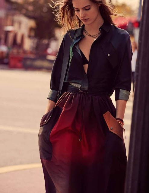 Tilda Lindstam - Elle USA Julho 2017 ~ Fashion Poses | @editoriaisrevistasmoda