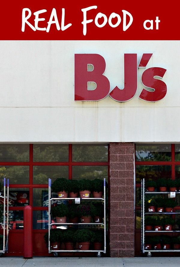 Saving Money on Real Food at BJ's from Real Food Real Deals