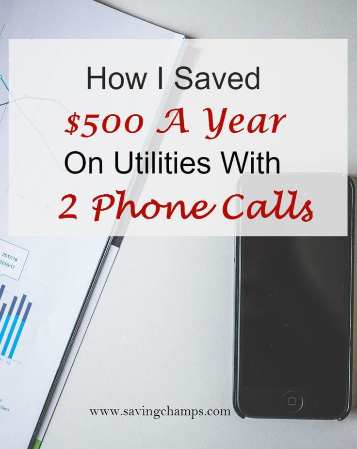 Save money on utilities by calling the utility companies to negotiate the price. Ideas on how to save money on electricity, save money on Internet cost, reduce spending, and live a frugal lifestyle. Money saving tips.