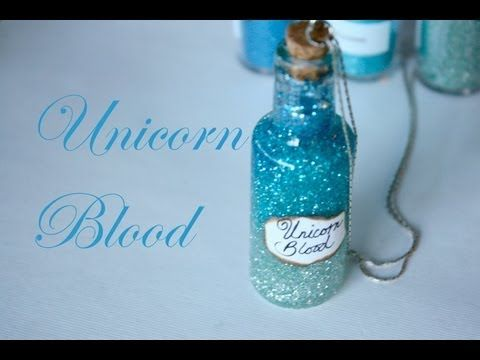 Unicorn Blood: Harry Potter Potion Ep. # 8 - 14 YouTube Videos on how to make different looking Harry Potter Potions
