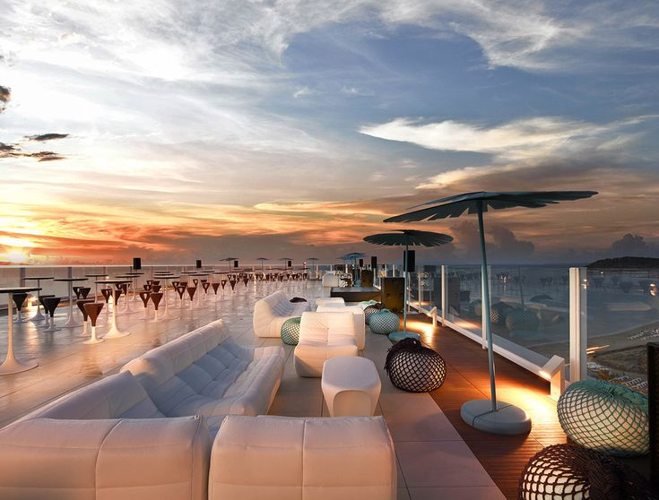 Restaurants and nightlife at the Hard Rock Hotel Ibiza.