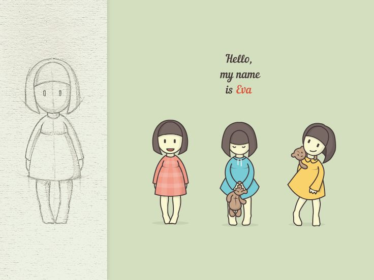 Hello, my name is Eva :) by Sue Ai