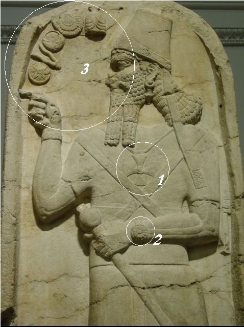 simbolo do sol nos detalhes: Ancient History, Ancient Ruinsaliensufospac, Ancient Aliens, Sumerian Stargate, British Museums, Sumerian God, Ancient Mesopotamia, Anunnaki Stargate Jpg, Ancient Art
