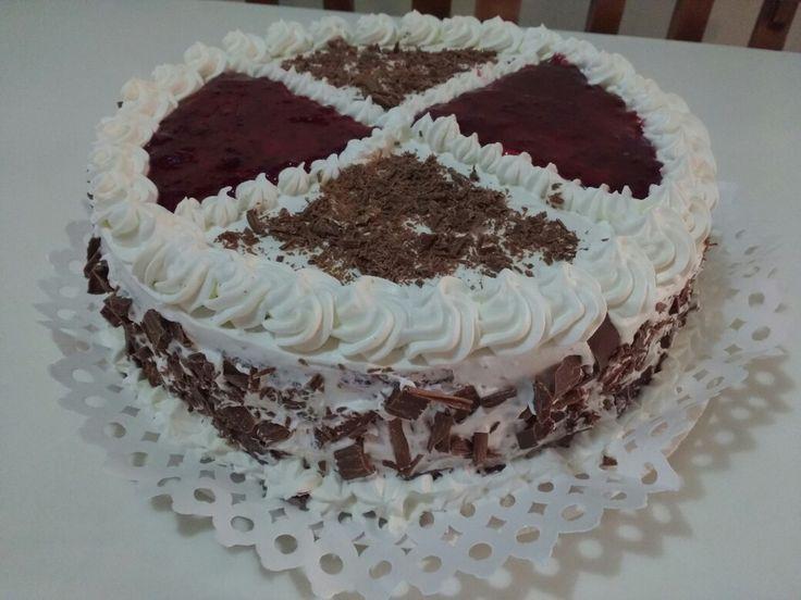 Selva negra cake